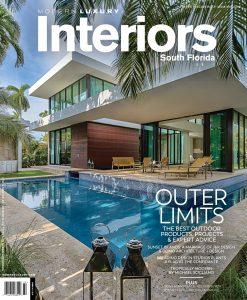 Modern Luxury Interiors Magazine Harvey Residence Cover