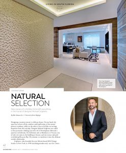 Modern Luxury Interiors Magazine Harvey Residence Michael Scigliano
