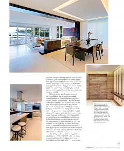 Modern Luxury Interiors Magazine Harvey Residence Interiors MS2