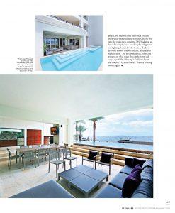 Modern Luxury Interiors Magazine Harvey Residence MS2 Design Studio Exterior