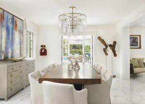 Pinecrest Florida Interior Design Dining Room