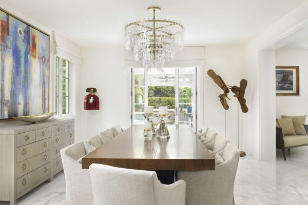 Pinecrest Florida Interior Design Dining Room