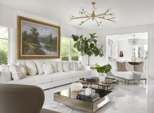 Pinecrest Florida Interior Design Living Room